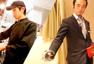 新宿・銀座・六本木の「個室高級レストラン&カラオケ」でホールスタッフ募集!
