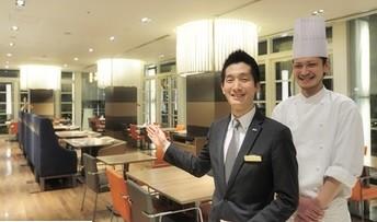 大手信販会社が100%出資している企業が運営しているホテル内レストランでのお仕事です!