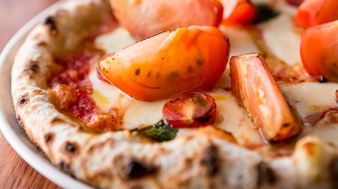 トラットリアマルーモのピッツァ