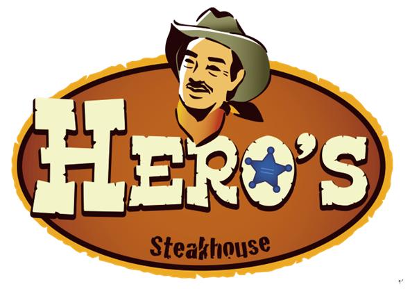 ステーキハウスヒーローズのロゴマーク