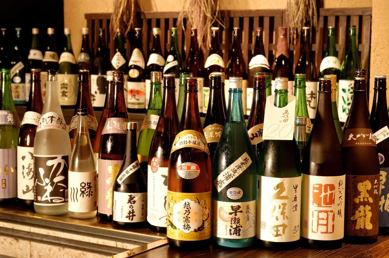 北信越の地酒を数多く取り揃えています