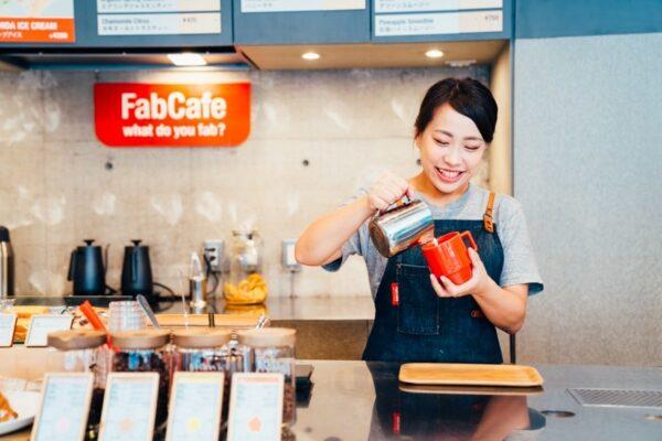 たくさんのご応募をいただいて、アルバイト2名の採用に成功。<有限責任事業組合FabCafe>