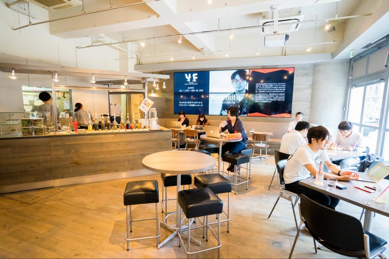 今回採用が決まった方はすでに『FabCafe Tokyo』で活躍中