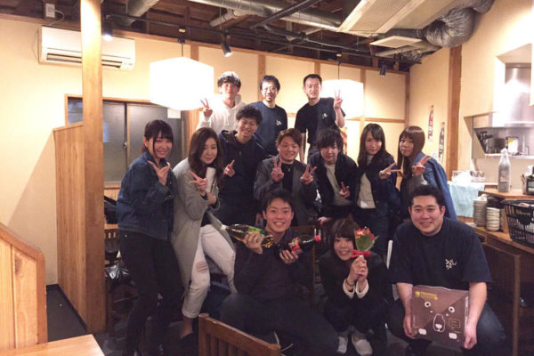 企業理念『日本に酔っぱらいを増やそう!』をタイトルに入れて大当たり!飲食経験ある4名を採用 【 株式会社 登坂】