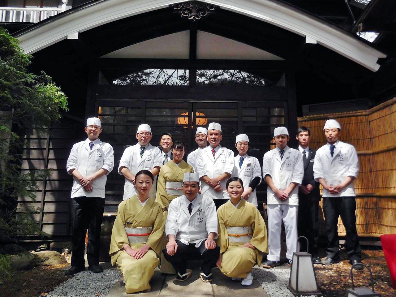 京料理伝承の繊細な味わいを、一期一会の精神でおもてなし。新しい風を吹かせてくれる6名に期待/株式会社熊魚菴たん熊北店
