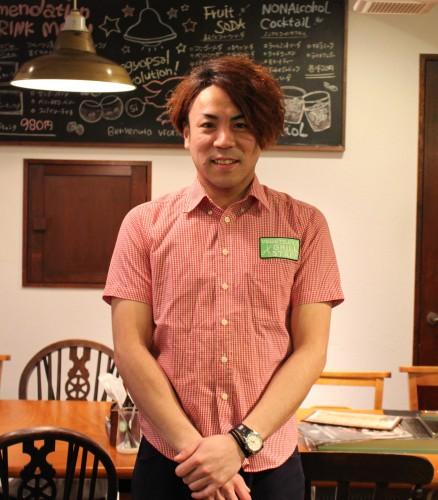 ベジデジや福島店の森慎太郎さん