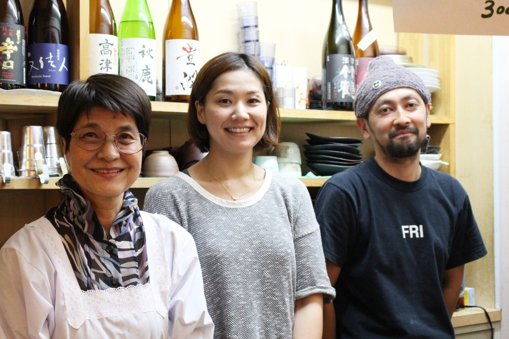 日本酒うさぎ3人