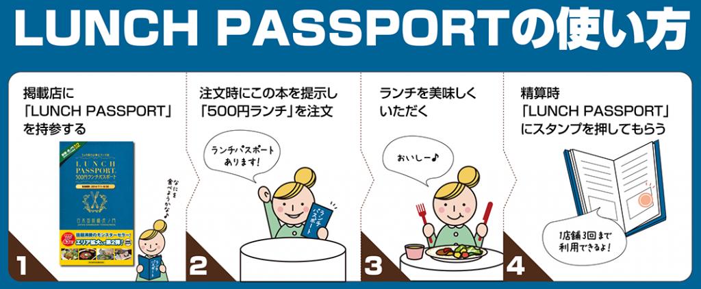 ランチパスポート新橋・虎ノ門版