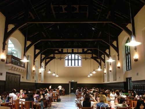 立教大学 池袋キャンパス 第一食堂