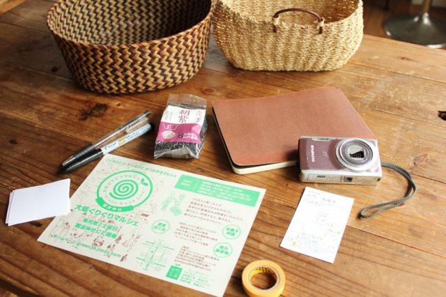 山内美陽子さんの、お仕事の七つ道具