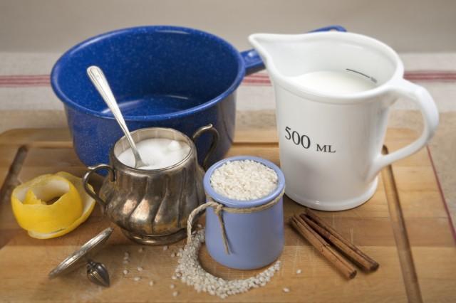 01 Arroz con leche ingredientes