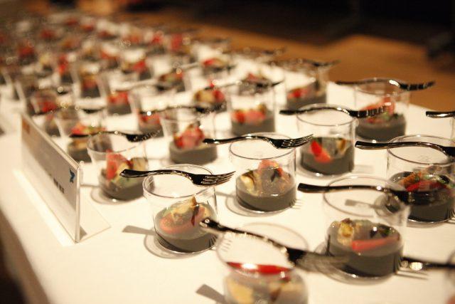 RED U-35 オープニングセレモニー会場提供の料理