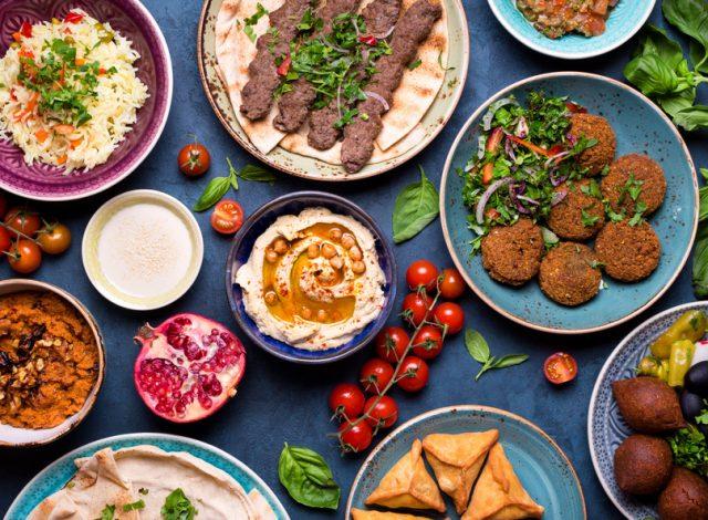 ハラルフード色々な料理