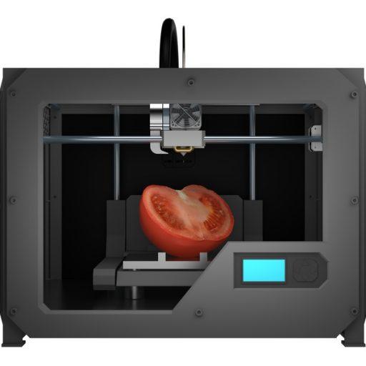 トマトを印刷する3Dプリンター