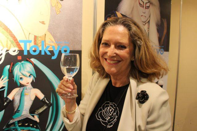 インバウンド向けのフードサービスを展開する株式会社シェアプロの副会長 Isabelle Huppertsさん