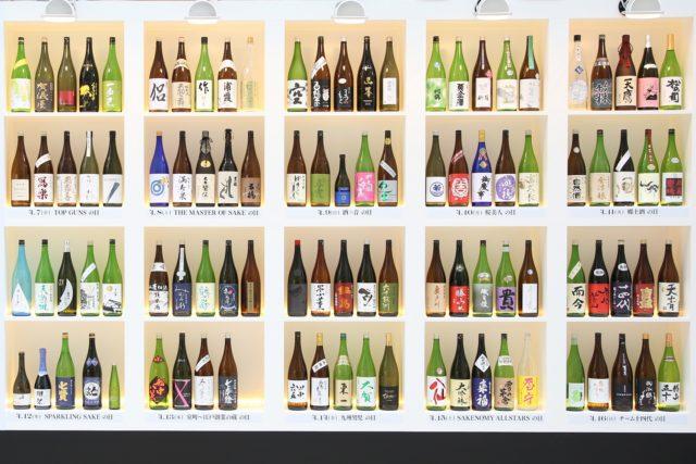 日本酒ディスプレイ
