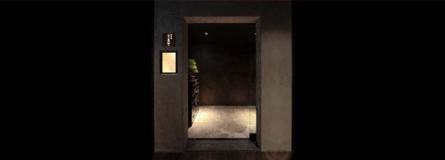料亭の玄関