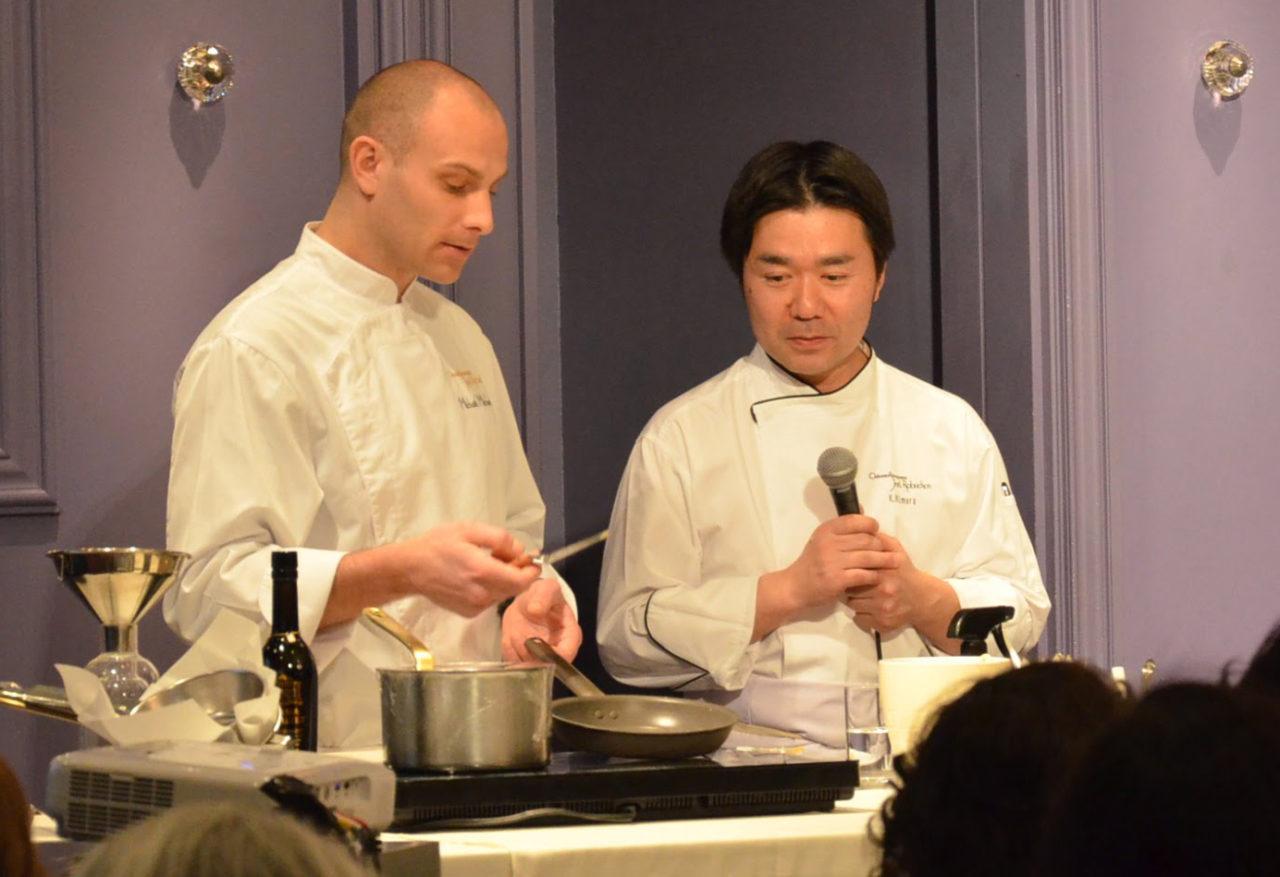 joel robuchon cooking demo