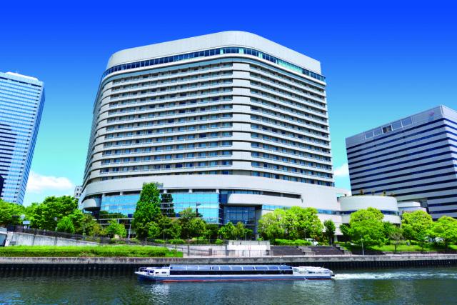 ホテルニューオータニ大阪の外観の写真