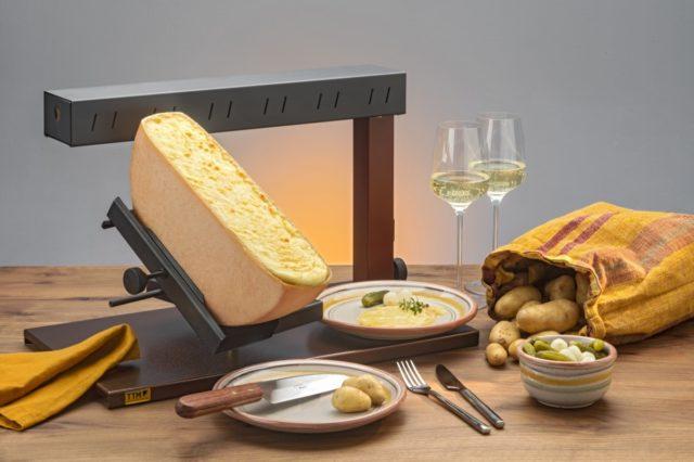 ラクレットチーズヒーターの写真