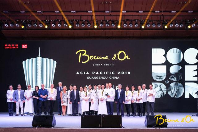 ボキューズ・ドール国際料理コンクールアジアパシフィック大会2018の様子
