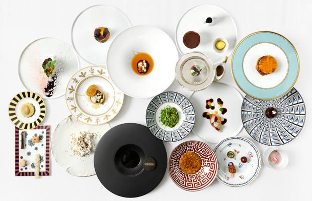 優勝した17品の料理の写真