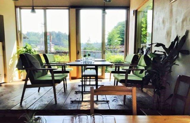 レストラン「Villa della Pace」の店内の写真