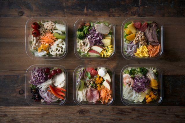 6種類のサラダ