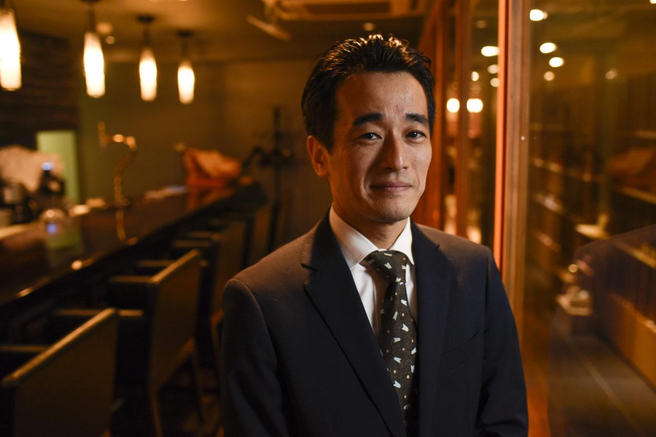 レストランアロム 岡部氏インタビュー時のお写真