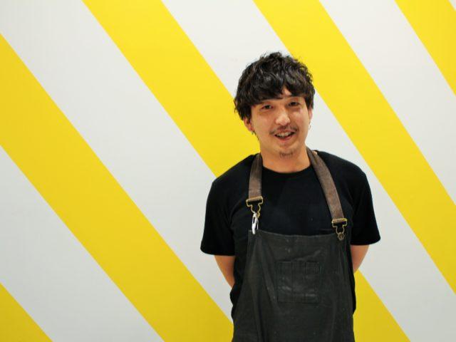 「goody nomad restaurant」森尻シェフが立っている写真