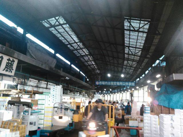築地場内市場全景写真