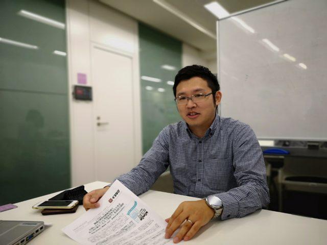 飲食店の営業を担当している樋口義人さんの写真
