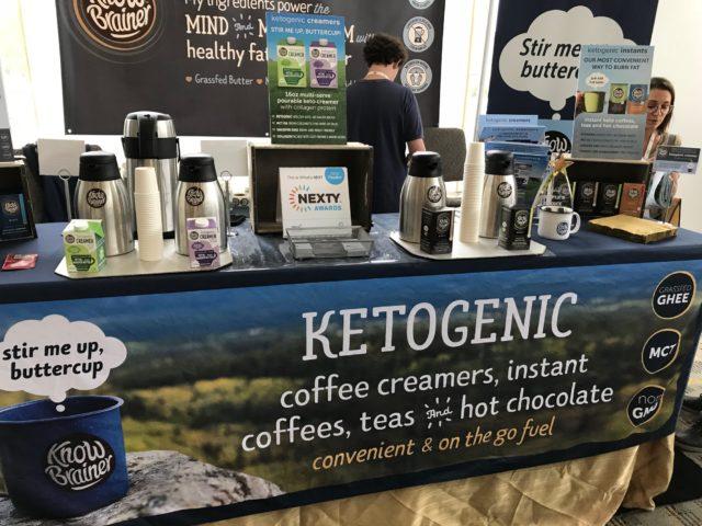 「ケトジェニック・ダイエットコーヒー」のコーナーの写真