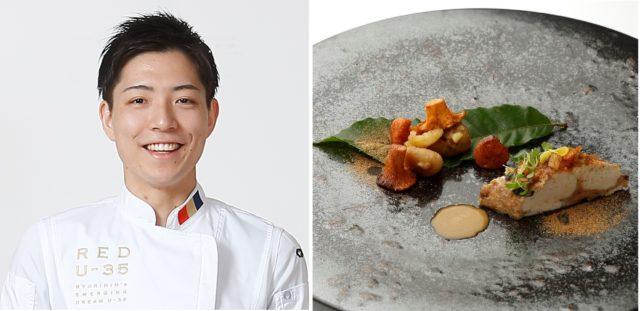 「Maison de Taka Ashiya」糸井章太さんと料理の写真