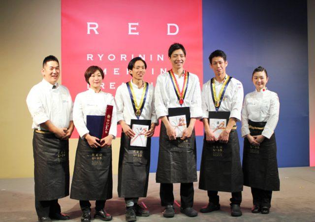 RED U-35 2018の受賞者の集合写真