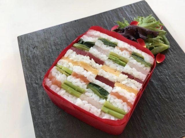 滋賀ホテルニューオウミの「びわ湖の宝石寿司」