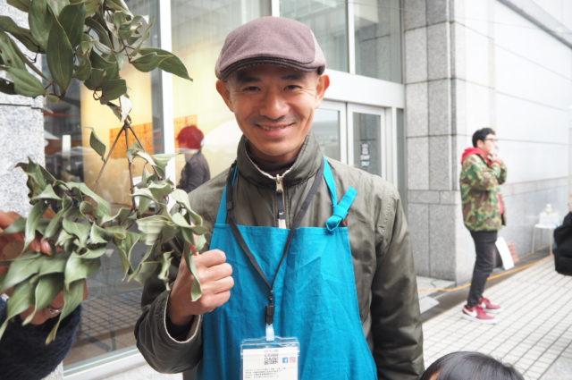 オキナワカカオの川合さんの写真