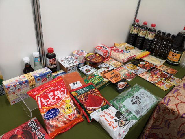 様々なお菓子や食品の画像