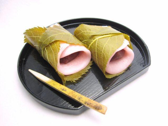 関東風(長命寺)の桜餅の画像