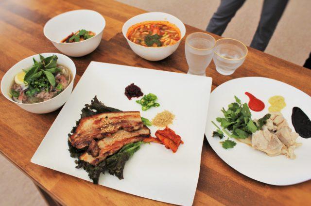 4月19日~23日まで出店するレストランの料理の写真