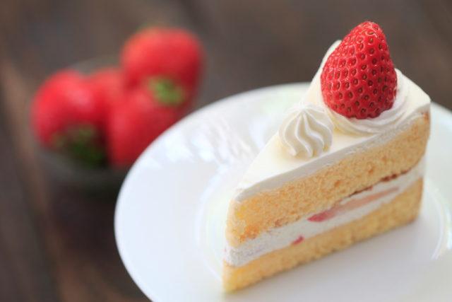 イチゴのショートケーキの画像