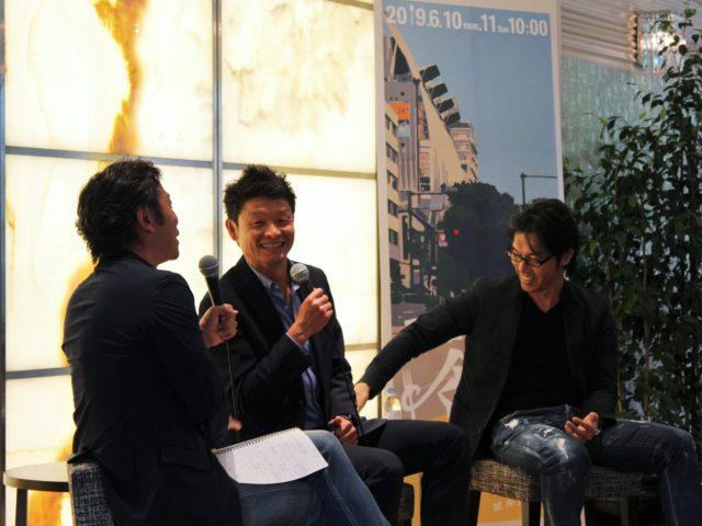 楠本さん、白戸さん、松田さんが笑顔でセッションしている様子
