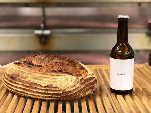ンの耳でできたクラフトビール「bread」の写真