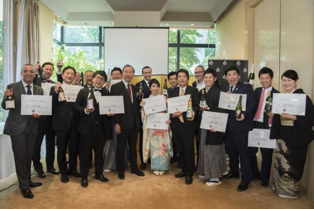 Kura Master授賞式に参加された受賞者の方々の集合写真
