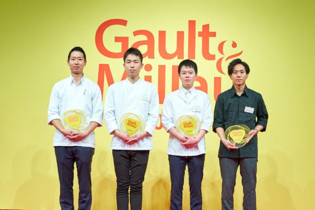 左から植田将道氏、高平康司氏、舛永高太郎氏、本岡 将氏の並んでいる写真