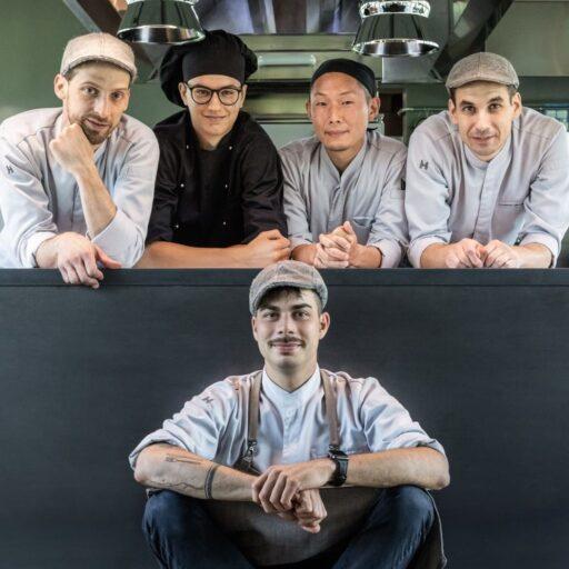 レストラン「le cementine(レ チェメンティーネ)」のメンバー5名の写真