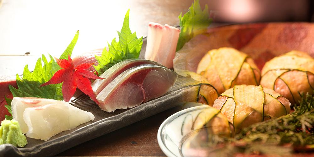和食居酒屋「空」で提供してる料理の写真