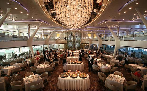 Main Restaurant: Cruise Ship Food & Dining | Celebrity Cruises